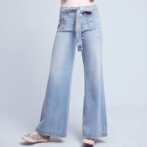 Anthropologie Pilcro High Waist Flare Jeans